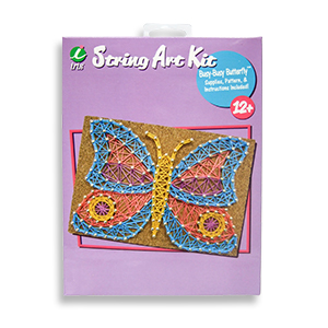 Busy-Busy Butterfly String Art Kit by Iris MAIN