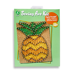Playful Pineapple String Art Kit by Iris MAIN