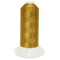 1200 Corral Gold Iris Trilobal Polyester Machine Embroidery & Quilting Thread - 11,000 Yds King Kong Cones MAIN