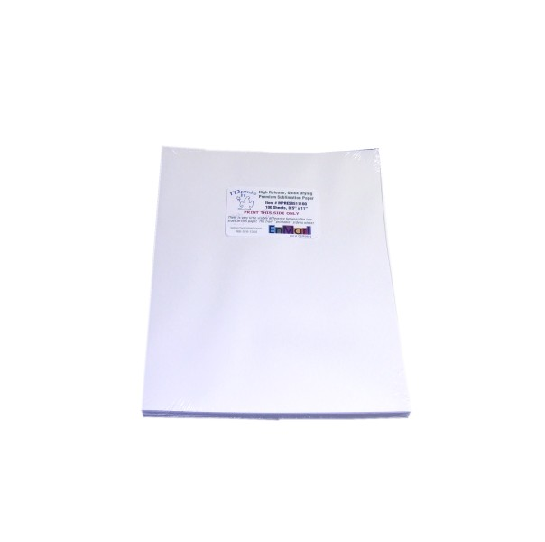"MPRES Sublimation Paper - 8.5"" x 11"" - 100 Sheet Pack MAIN"