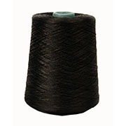 Iris Polyester Merrow Floss Black # 8503