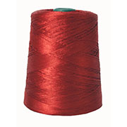 Iris Polyester Merrow Floss Red # 8602