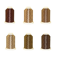 Chocolate Palette - Polyester Embroidery Thread 5500 Yard Cones MAIN