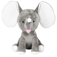 Cubbies Grey Dumble Elephant