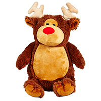 "Cubbies ""Eric"" Brown Reindeer"