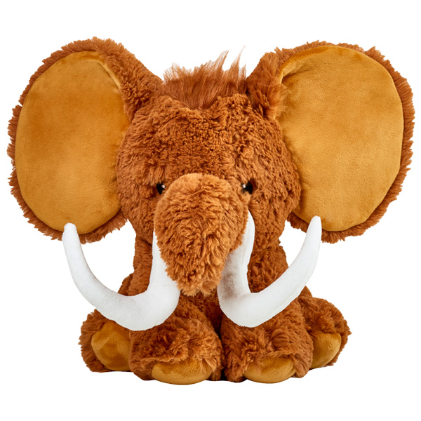 Cubbies Woolly Mammoth Dumble Embroidable Stuffed Animal