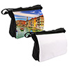 Large Black Messenger Bag - Sublimation Blank