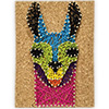 Pretty Twisted No Drama Llama String Art DIY Craft Kit