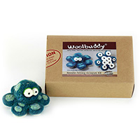Woolbuddy Needle Felting Octopus Kit MAIN