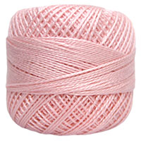 Pearl Cotton Thread Balls by Iris Size 8 - 83 yds Light Pink #133 MAIN
