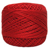 Pearl Cotton Thread Ball by Iris 83 Yd. Size 8 #201 Red THUMBNAIL