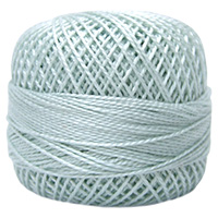 Pearl Cotton Thread Balls by Iris Size 8 - 83 yds Baby Blue #471 MAIN