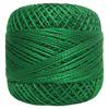 Pearl Cotton Thread Balls by Iris Size 8 - 83 yds Dark Green #563