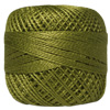 Pearl Cotton Thread Balls by Iris Size 8 - 83 yds Golden Green #573