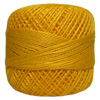 Pearl Cotton Thread Balls by Iris Size 8 - 83 yds Canary Yellow #663