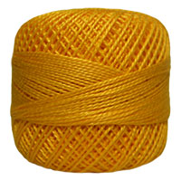 Pearl Cotton Thread Balls by Iris Size 8 - 83 yds Golden Nectar #676 MAIN