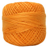 Pearl Cotton Thread Balls by Iris Size 8 - 83 yds Orange Mist #685