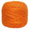 Pearl Cotton Thread Balls by Iris Size 8 - 83 yds Burnt Orange #694