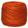 Pearl Cotton Thread Balls by Iris Size 8 - 83 yds Orange Dream #696