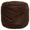 Pearl Cotton Thread Balls by Iris Size 8 - 83 yds Chocolate #727 THUMBNAIL