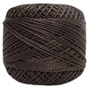 Pearl Cotton Thread Balls by Iris Size 8 - 83 yds Espresso Dark #780