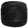 Pearl Cotton Thread Ball by Iris 83 Yd. Size 8 Black Perle THUMBNAIL