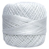 Pearl Cotton Thread Balls by Iris Size 8 - 83 yds Perle White