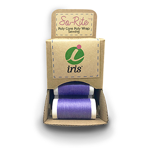 Point-of-Sale PDQ Single Color Snap Spool Display: SoRite Sewing Thread MAIN