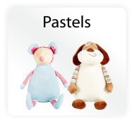 Baby Cubbies Pastels - Stuffed Animal Embroidery Blanks