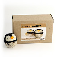 Woolbuddy Needle Felting Penguin Kit