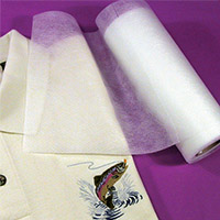 Super Poly Mesh Backing - White - 20 Inch x 100 Yard Roll