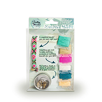 Pretty Twisted Beach Chic Artisan Bracelet + DIY Craft Kit THUMBNAIL