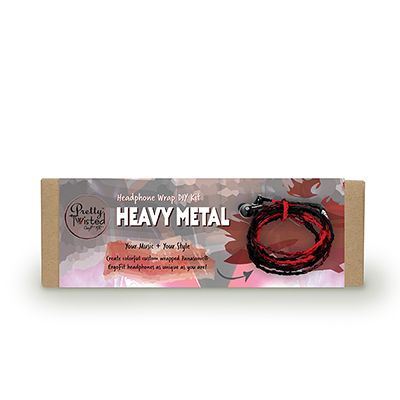 Pretty Twisted Heavy Metal Headphone Wrap DIY Kit_MAIN