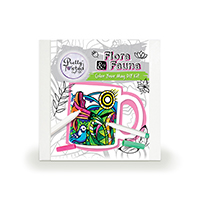 Pretty Twisted Flora & Fauna Color Your Mug DIY Craft Kit THUMBNAIL