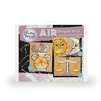 Pretty Twisted AIR Astrology String Art DIY Craft Kit THUMBNAIL