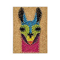 Pretty Twisted No Drama Llama String Art DIY Craft Kit THUMBNAIL