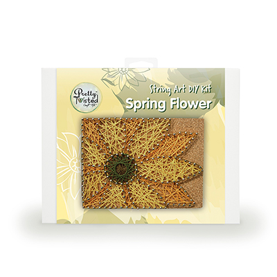 Pretty Twisted Spring Flower String Art DIY Kit_MAIN