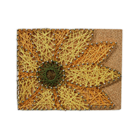 Pretty Twisted Spring Flower String Art DIY Craft Kit THUMBNAIL