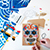 Pretty Twisted Senorita Sugar Skull String Art DIY Kit SWATCH