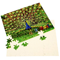 110 Piece Jigsaw Puzzle - Sublimation Blank_MAIN