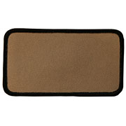 "Rectangle 1"" x 4"" Custom Color Blank Patch"