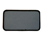 "Rectangle 2.5"" x 4.5"" Custom Color Blank Patch"