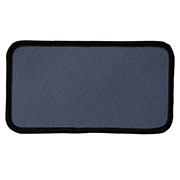 "Rectangle 4"" x 11"" Custom Color Blank Patch"