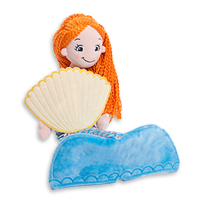 "Cubbies ""Fiona"" Mermaid Rag Doll MAIN"