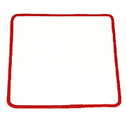 Standard Color Blank Patches - 5 Inch Square MAIN