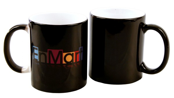 11 oz. Black Color Changing Mug THUMBNAIL