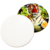 Circle Sandstone Coaster - Sublimation Blank