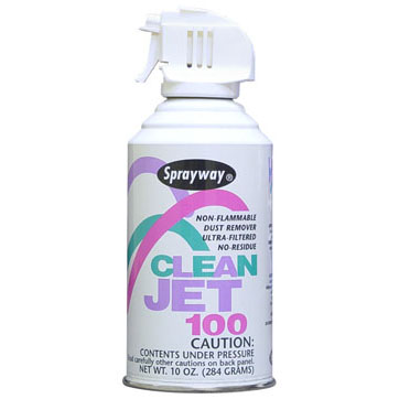 Sprayway 805 Clean Jet 100 Dust and Lint Remover THUMBNAIL