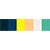 Beach Palette - Polyester Embroidery Thread 5500 Yard Cones SWATCH