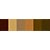 Chocolate Palette - Polyester Embroidery Thread 5500 Yard Cones SWATCH